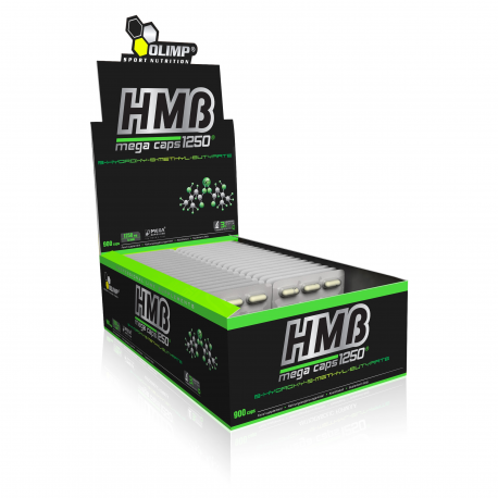 Olimp - HMB (1250 mg) Mega Caps - 120 cap.