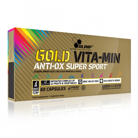 GOLD VITA-MIN ANTI-OX SUPER SPORT™ 60 caps